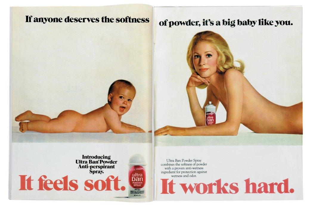 Разворот журнала Playgirl  за 1973 год. Изображение № 5.