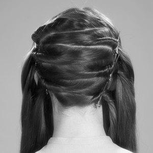 Модные причёски  из 90-х для волос  разной длины. Изображение № 10.