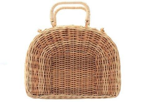 Плетёные сумки для города: 10 моделей от простых до роскошных. Изображение № 5.