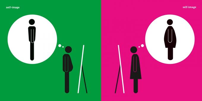 Дизайнер высмеивает гендерные стереотипы в серии иллюстраций. Изображение № 3.