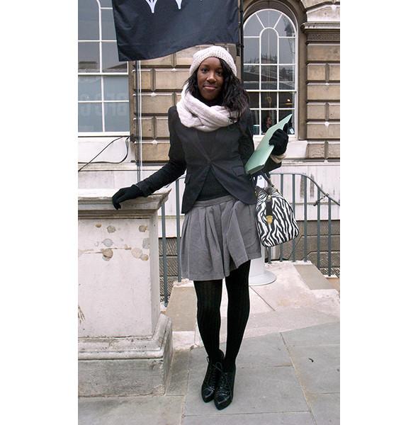 London Fashion Week: день первый — луки. Изображение № 3.