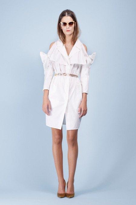 Элегантные платья и блузки в весеннем лукбуке Paule Ka. Изображение № 12.