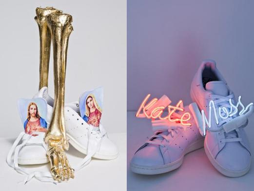 Мосс и Кэмпбелл превратили кроссовки в арт-объекты . Изображение № 1.