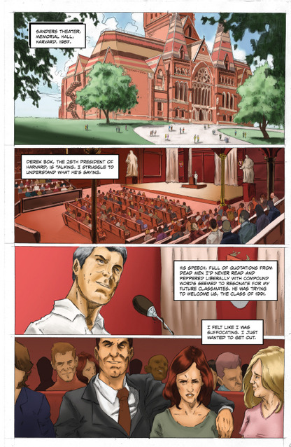 Выходит комикс о жизни  и карьере COO Facebook Шерил Сэндберг. Изображение № 2.