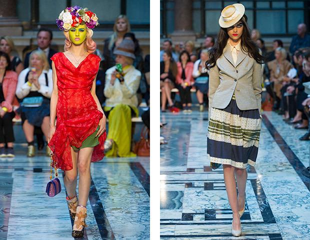 Неделя моды в Лондоне: Показы Acne, Mary Katrantzou, Vivienne Westwood и Philip Treacy. Изображение № 34.