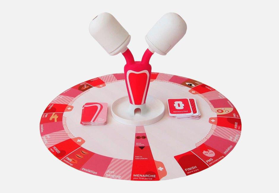 Обучающая настольная игра о месячных The Period Game. Изображение № 1.