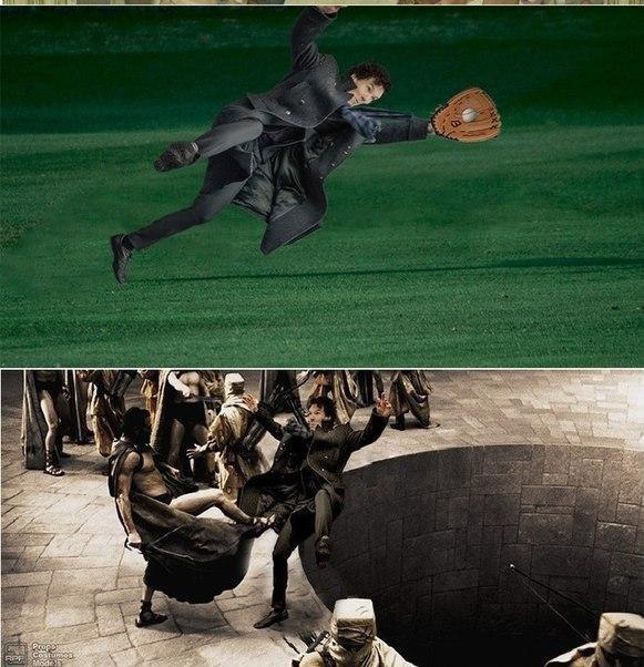Падающий Шерлок стал новым интернет-мемом. Изображение № 2.