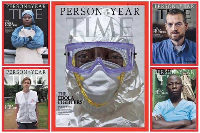 TIME назвали «Человеком года» борца с Эболой. Изображение № 1.