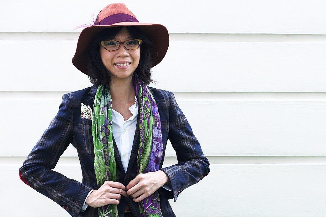 Гардероб: Джени Кай,  директор моды Esquire Singapore . Изображение № 1.