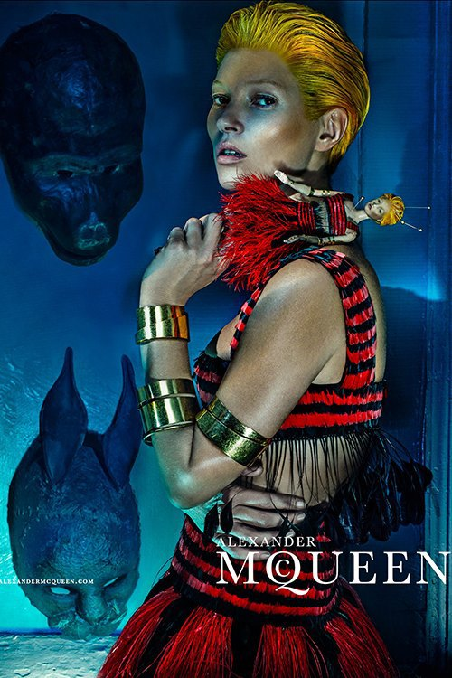 Кейт Мосс стала новым лицом Alexander McQueen. Изображение № 1.