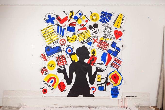 В Париже открылась выставка Жан-Шарля  де Кастельбажака . Изображение № 2.