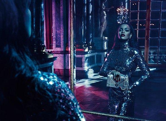 Dior показали рекламную кампанию с участием Рианны. Изображение № 2.