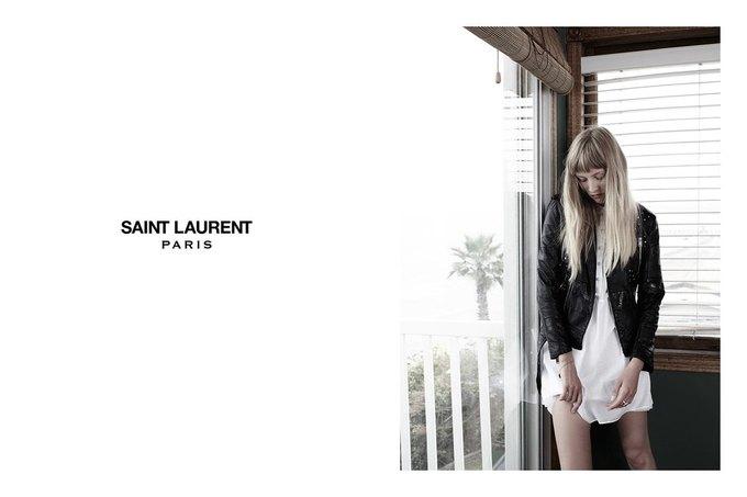 Звезда «Любви» Гаспара Ноэ и сын Килмера снялись в рекламе Saint Laurent. Изображение № 3.
