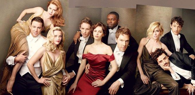 Vanity Fair раскритиковали за «белую» обложку спецвыпуска. Изображение № 1.