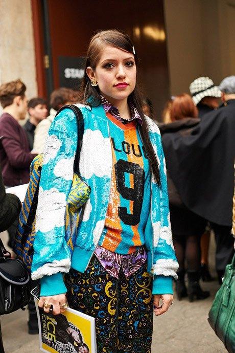 Стритстайл:  Неделя моды в Милане,  часть I. Изображение № 6.