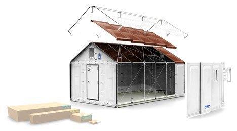 IKEA предоставит 10 тысяч временных домов  для беженцев. Изображение № 1.