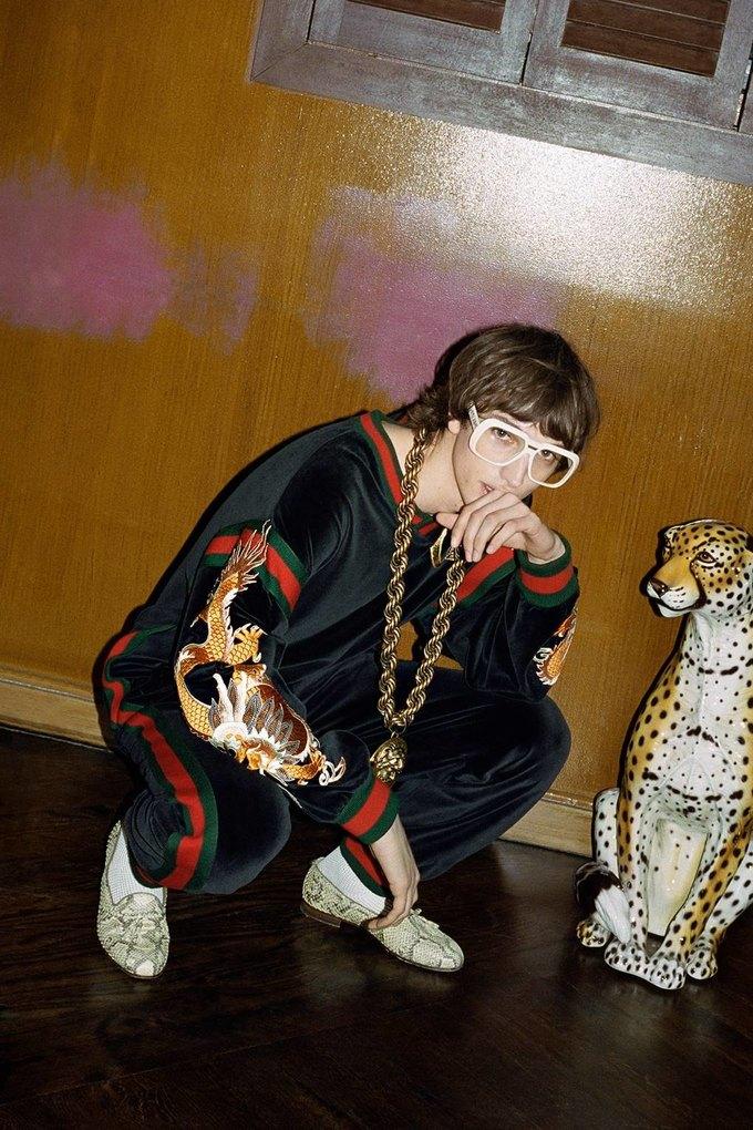 Gucci показали коллаб с дизайнером Дэппер Дэном. Изображение № 6.