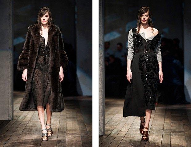 Аманда Мёрфи,  модель, открывшая  и закрывшая Prada. Изображение № 10.