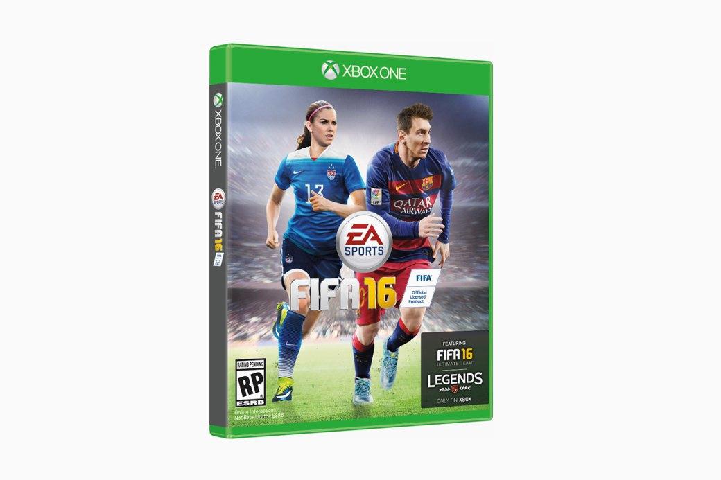FIFA 16: Футбольный симулятор с женскими командами. Изображение № 1.