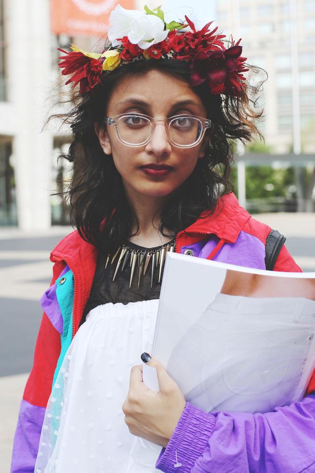 Других посмотреть и себя показать: Неделя моды в Нью-Йорке. Изображение № 5.
