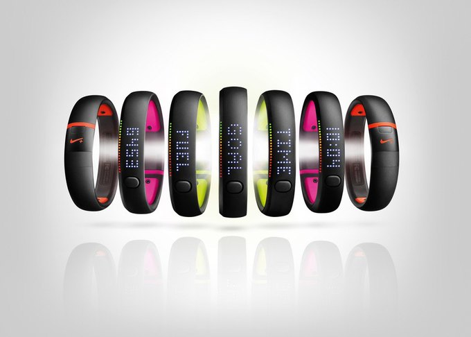 Nike обновила браслет-трекер Nike+ FuelBand. Изображение № 1.