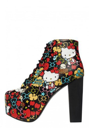 Jeffrey Campbell посвятили коллекцию обуви Hello Kitty. Изображение № 5.