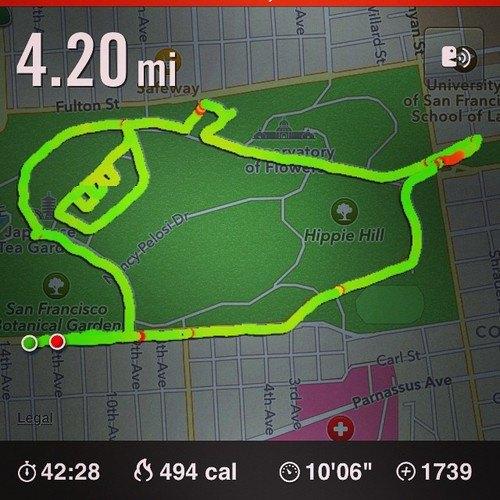 Американка превращает маршруты тренировок Nike+ в рисунки пенисов. Изображение № 5.