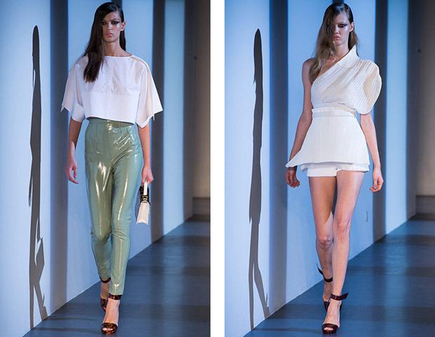Парижская неделя моды: показы Damir Doma, Dries Van Noten, Rochas, Gareth Pugh и Mugler. Изображение № 45.