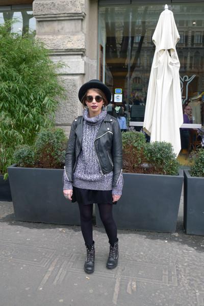 Milan Fashion Week: день четвертый – луки. Изображение № 8.