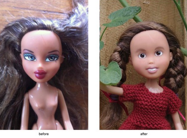 С кукол Bratz смыли агрессивный макияж. Изображение № 3.