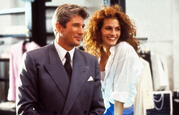 «Красотка», 1990 Ричард Гир водит красотку и проститутку Джулию Робертс в оперу, где она «чуть не описалась от восторга» — вот он, рецепт здоровых отношений. Изображение № 2.