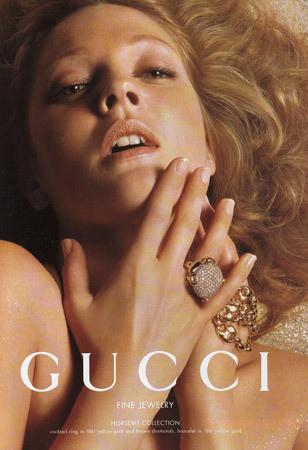 Кампания украшений Gucci с Дрю Бериимор . Изображение № 119.