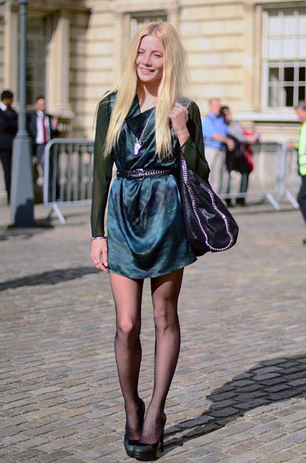 London Fashion Week: Уличный стиль, часть 1. Изображение № 9.