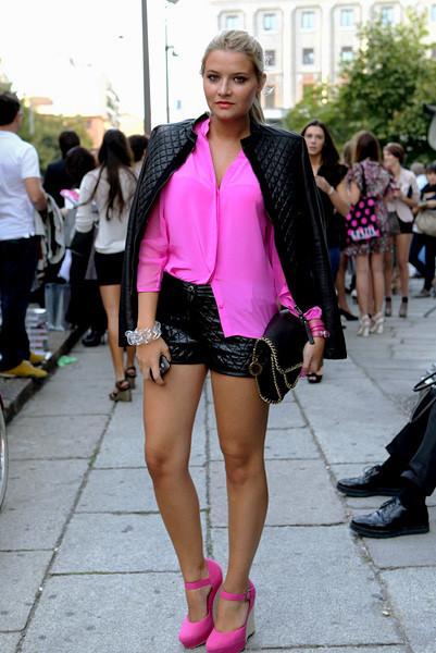 Milan Fashion Week: Уличный стиль, день 1. Изображение № 11.