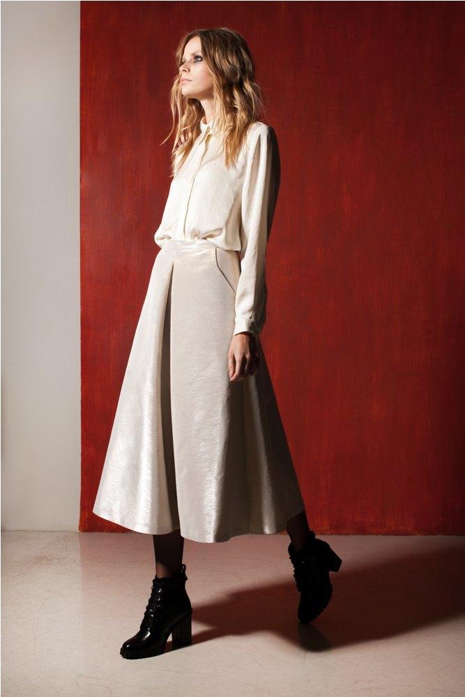 Платья и юбки в бельевом стиле в лукбуке Daria Bardeeva . Изображение № 3.