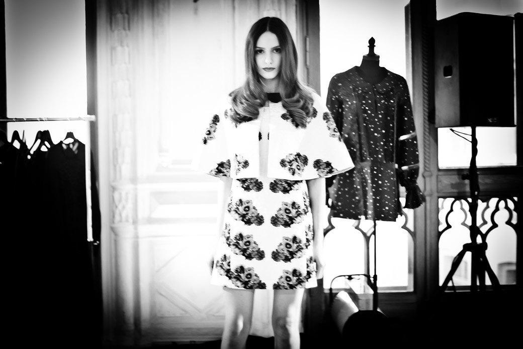 Репортаж: Бархатные платья  и светящиеся кубы на LUBLU Kira Plastinina FW 2013. Изображение № 35.