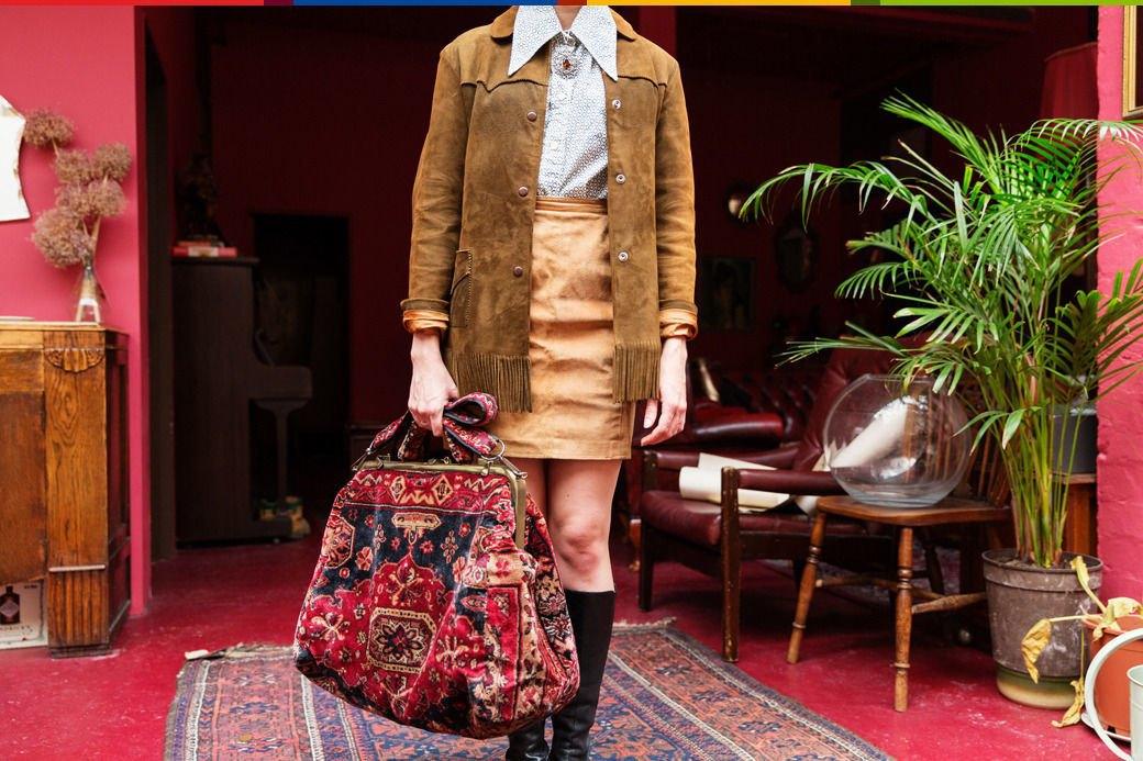 Психоделия: Дизайнер обуви Джорджи Би и ее коллекция винтажа. Изображение № 32.