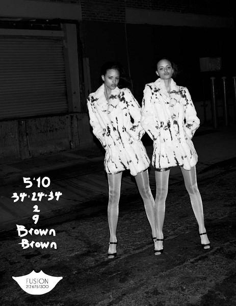 Композитки пяти модельных агентств к Нью-Йоркской неделе моды. Изображение № 37.