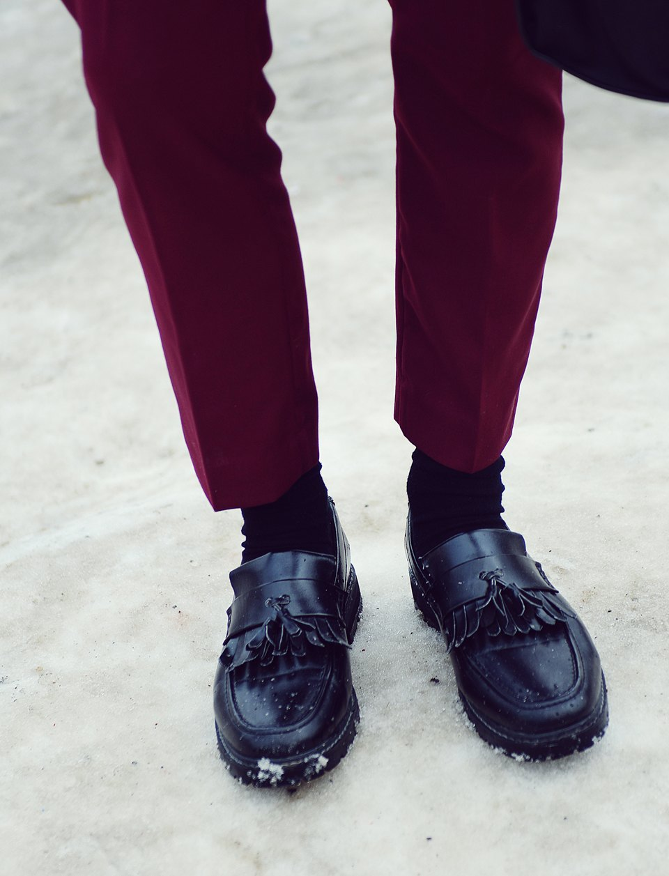 Шубы и горох на Stockholm Fashion Week. Изображение № 29.