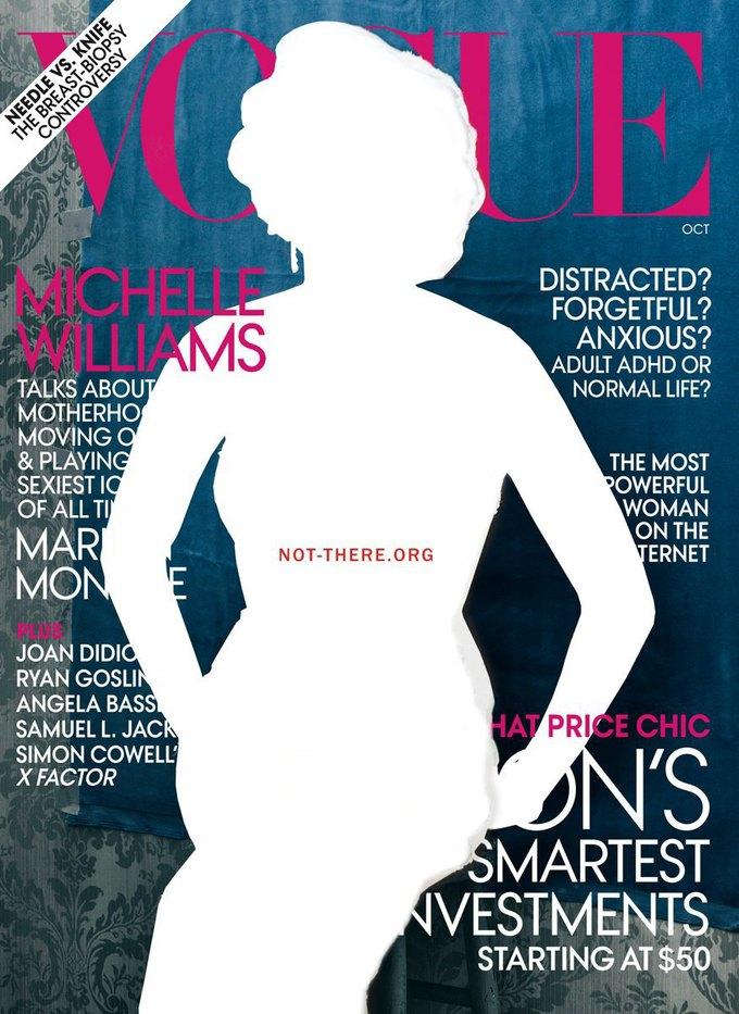 8 Марта женщины исчезли  с рекламных щитов  и обложек. Изображение № 2.