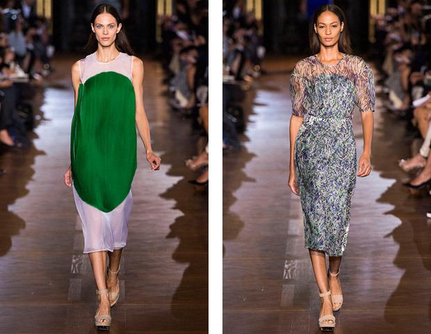 Парижская неделя моды: Показы Stella McCartney, Chloe, Saint Laurent, Giambattista Valli. Изображение № 3.