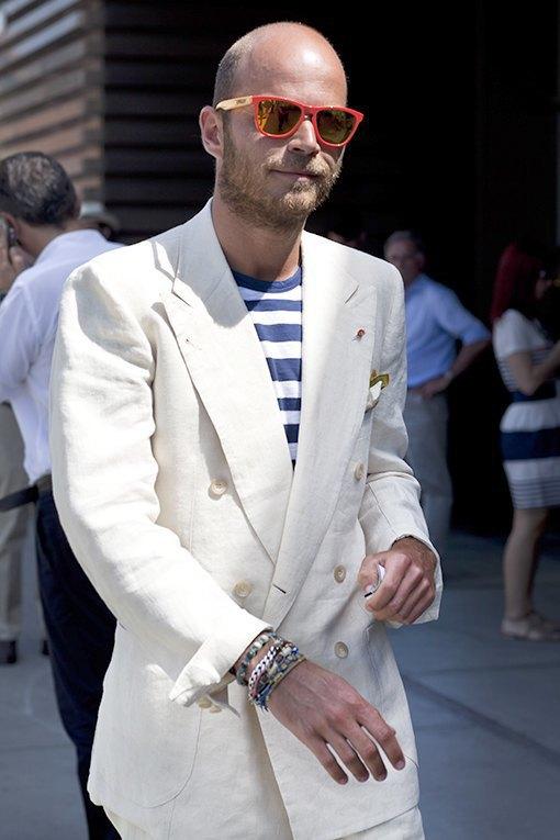 Стритстайл: Красивые мужчины на Pitti Uomo. Изображение № 9.