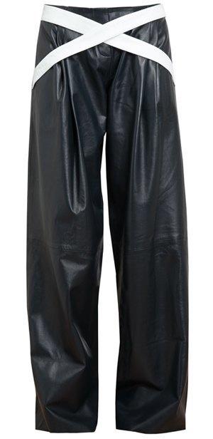 Широкие брюки в осенне-зимних коллекциях. Изображение № 16.