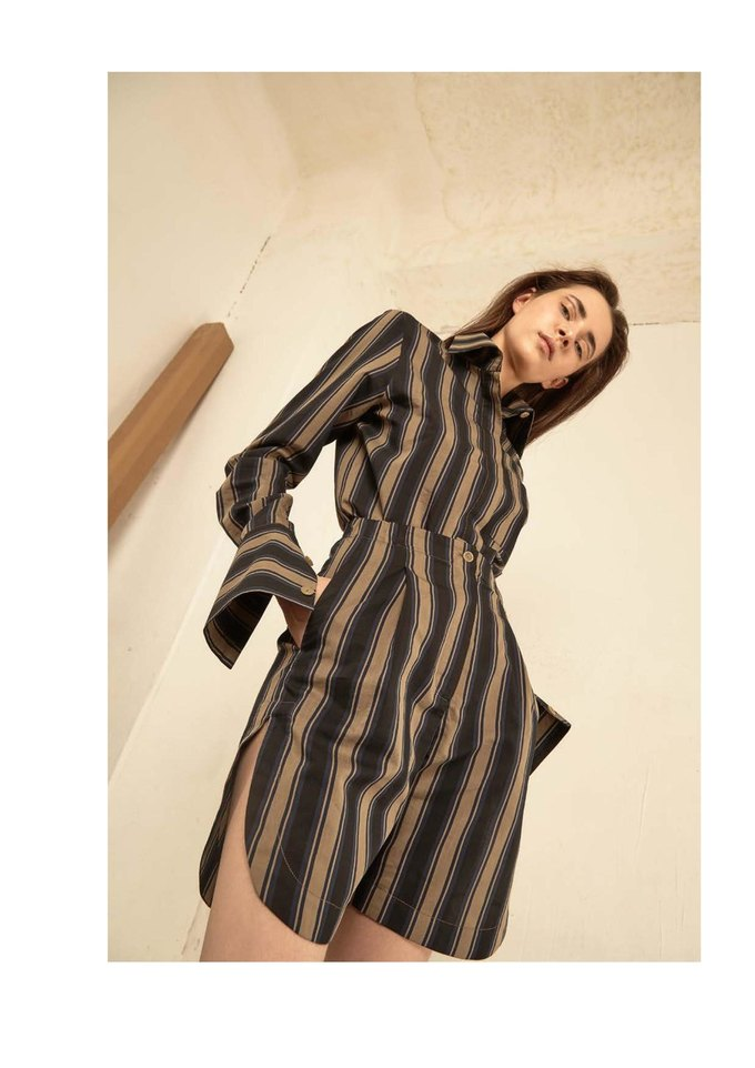 Новая коллекция Sergey Soroka вдохновлена мужским гардеробом. Изображение № 7.