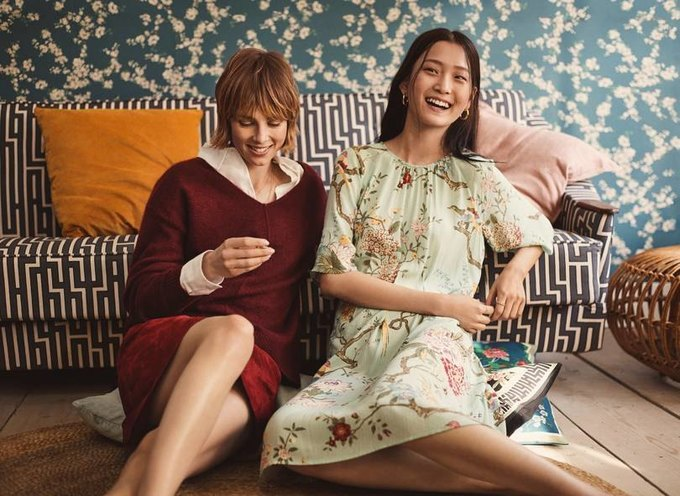 H&M показали красивый коллаб с текстильной маркой GP & J Baker . Изображение № 2.