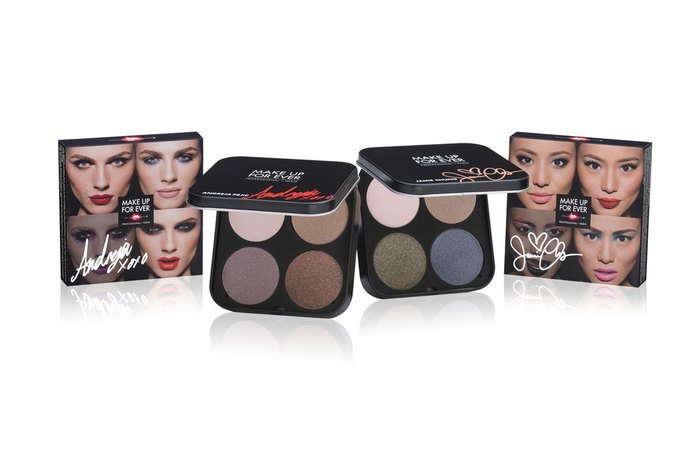 Make Up For Ever показали рекламную кампанию с Андреей Пежич. Изображение № 2.