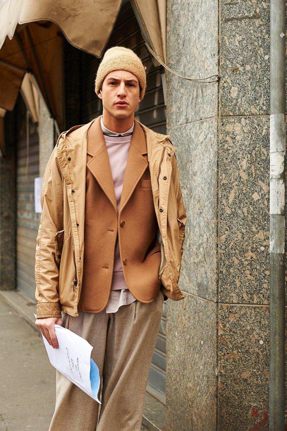 Стритстайл:  Неделя моды в Милане,  часть I. Изображение № 1.