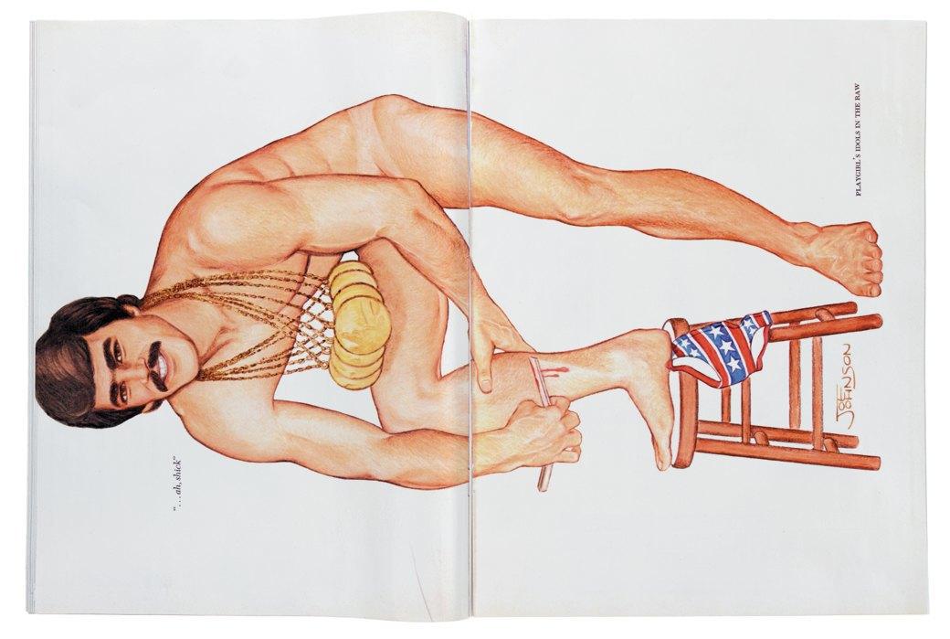 Разворот журнала Playgirl  за 1973 год. Изображение № 9.