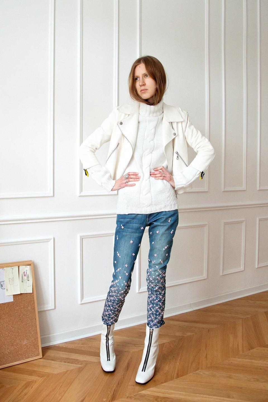 Аня Небренчина,  дизайнер марки Roi et Moi. Изображение № 29.