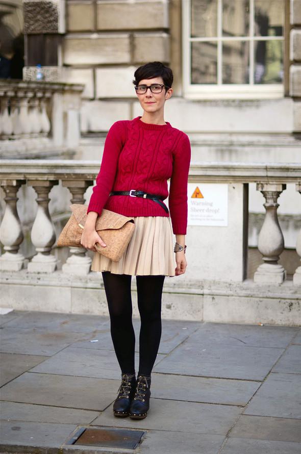 London Fashion Week: Уличный стиль, часть 1. Изображение № 22.